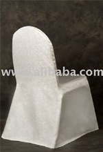 Off White Color Marble Design Regular Textile Chaircovers Products
