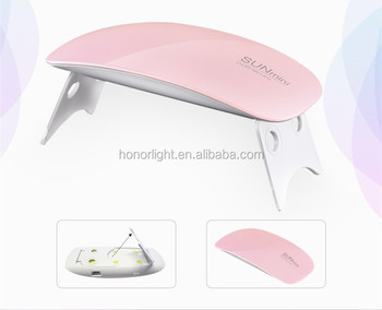 6W mini sun polish dryer gel nail led lamp