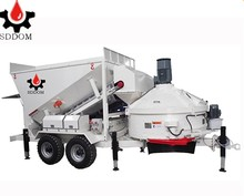 High Quality MB1500 mobile concrete batching plant mini mix plant for sale