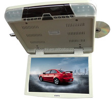 15.6 inch car flip down dvd player with USB/SD/FM/IR/TV-New model