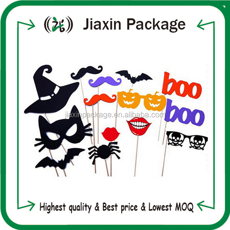 2015 party decoration Halloween photo booth props for kids trick or treat