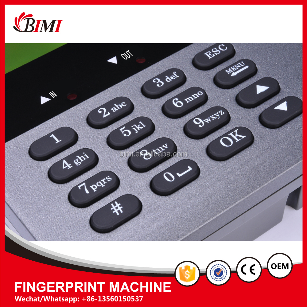 Fingerprint Time Attendance Recording System Fingerprint Scanner in Bangladesh