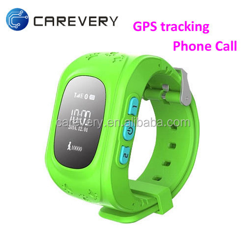High quality GPS watch phone for child kids, smart phone watch gps sim card slot