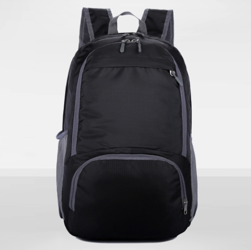 Best selling fashion nylon material laptop backpack foldable school bag