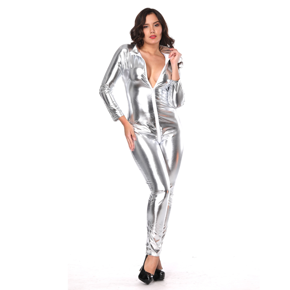 adult costumes latex catsuit women sexy catwoman costume lingerie