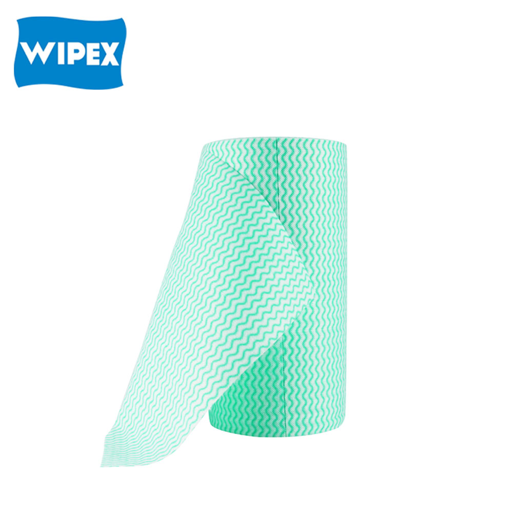 Wholesale Products Multipurpose Disposable Spunlace Cleaning Household Non-woven Cloths Roll