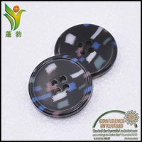 D2515 colorful fashion urea buttons for garments