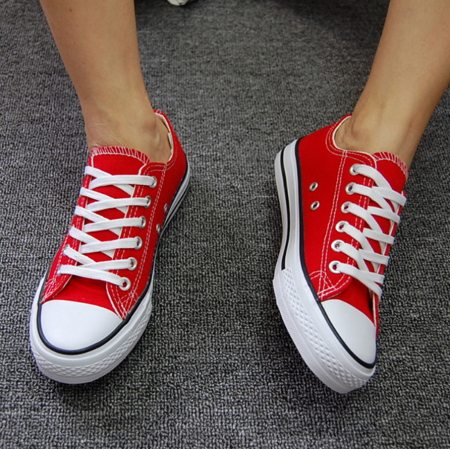 Man casual shoes summer spring lace up canvas running shoes