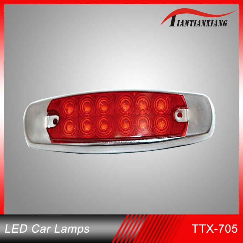 led side lights for trucks&trailers, high quality truck tail light super white