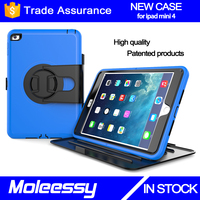 Unique customize hybrid drop resistance 8 inch tablet keyboard case for iPad mini 4
