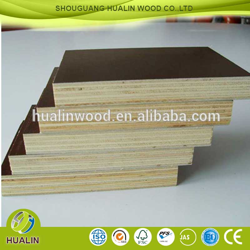 12mm/18mm black marine plywood board ,construction wood,film faced plywood for construction