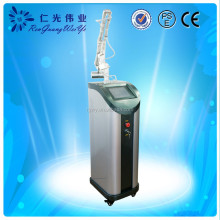 Fractional co2 surgical laser eye bag removal