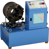 Hydraulic machine hose crimping machine