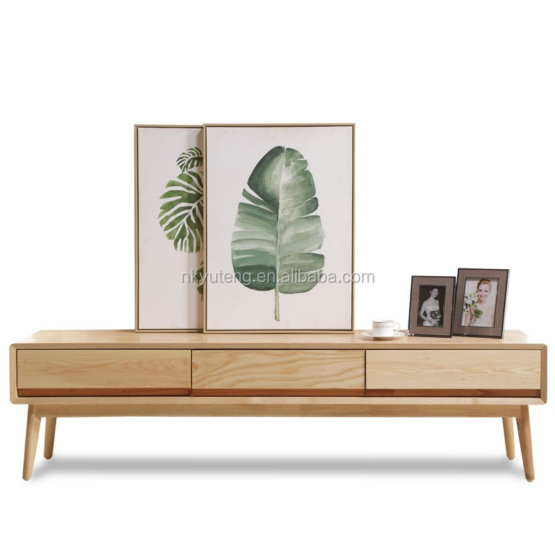 modern style living room wood tv wall units designs