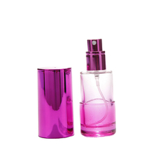 15ml vintage long cover italy fragrance oil cylinder shape glass packaging handy perfume bottle