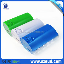 EUD-PB23 high capacity with 6000mAh CE RoHS FCC New Cheap OEM 12000mah power bank ,mobile power supply,portable battery charger