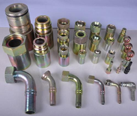 Hot sale china factory 90 elbow BSP male 60 cone seal or bonded seal/NPT male seal Hydraulic fitting