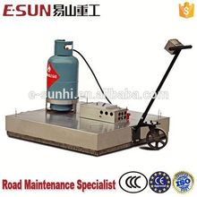 Mini infrared asphalt road reclaimer