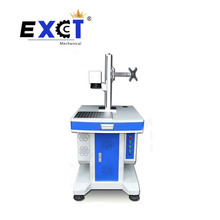 High speed fiber laser marking machine portable metal cabinet for metal and nonmental