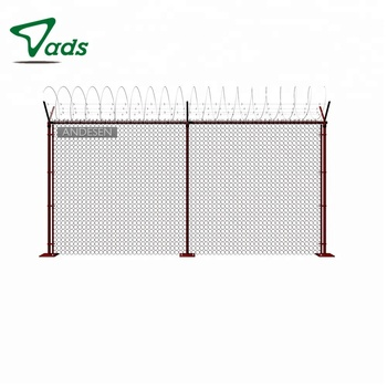 5 foot design stainless and gates chain link temporary fence