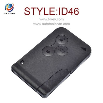 Remote Card For Renault Megane Smart Key Card 434Mhz 3 Button with Best Price Now!