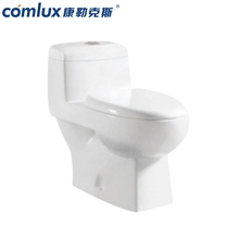 New type european style western standard size ceramic sanitary ware chaozhou one piece girl corner toilet
