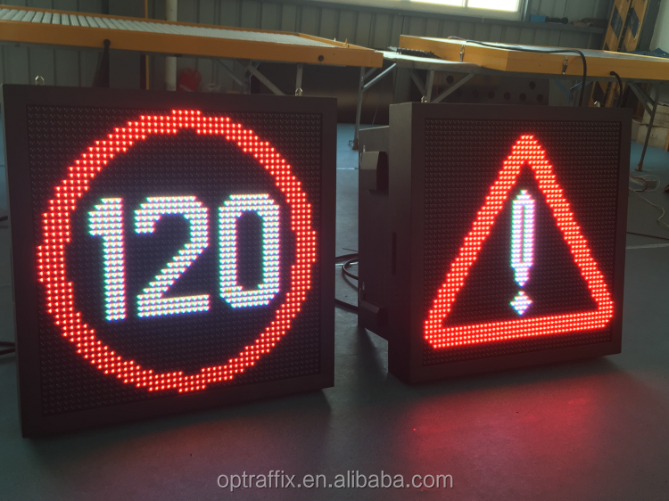 Handhold Controller P16 Led Programming Sign Display Traffic Information Led Outdoor Display Truck Mounted Led Display