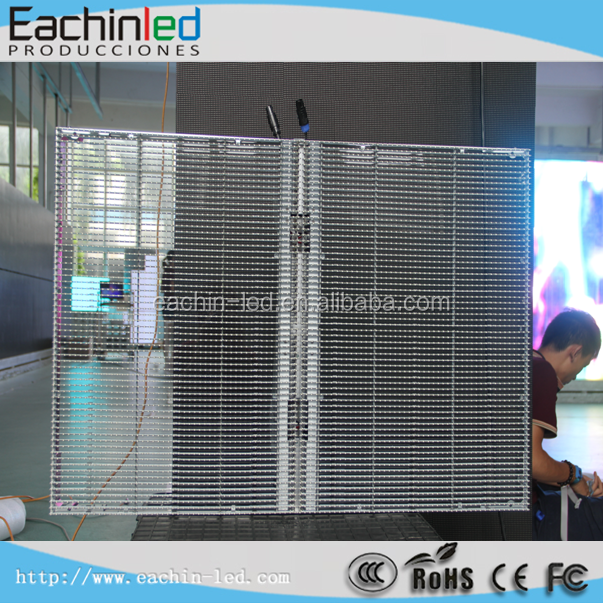 P10 smd transparent banner /advertising led display billboard screen