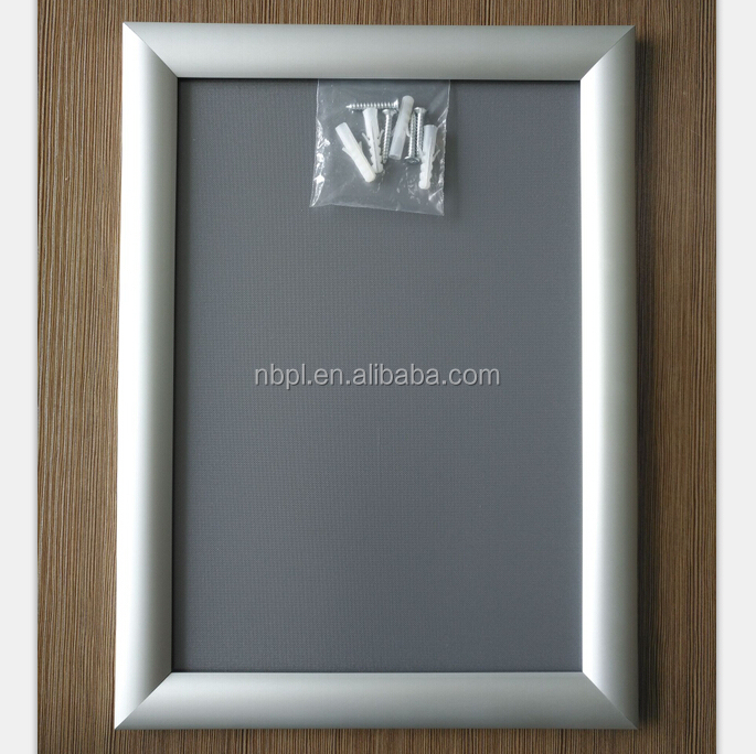 Metro advertising <strong>poster</strong> holder wall mounted snap <strong>frame</strong> A4