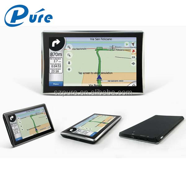 5 inch Bluetooth-enabled Navigator GPS ,Windows CE6.0 System GPS Navigator