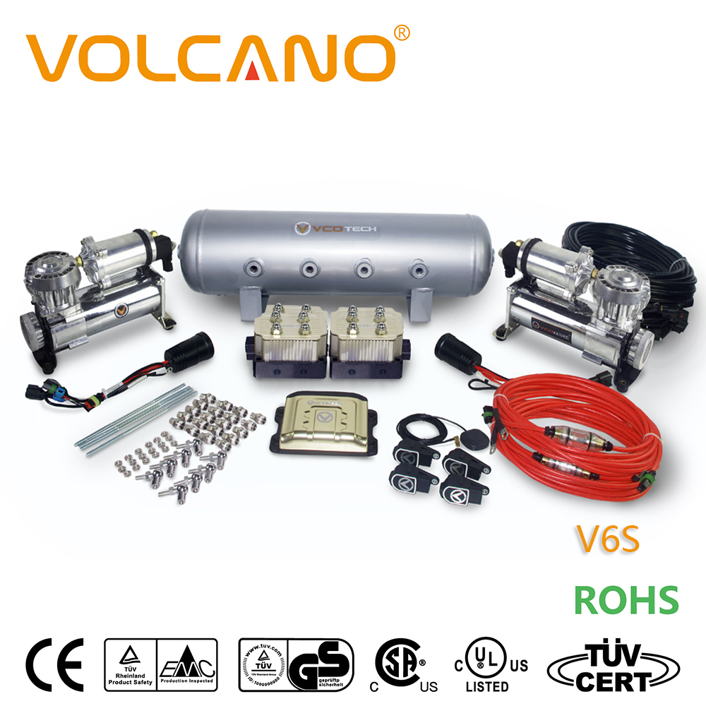 High quality air suspension compressor,professional car air suspension kits,new design air suspension for car