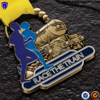 3D Race The Train medals