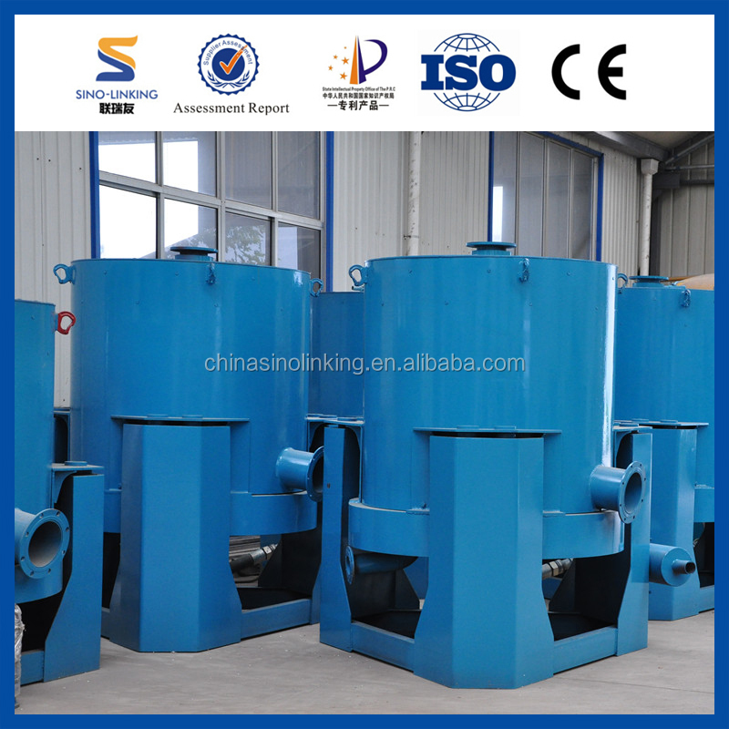 Fully-automatic Placer Sediment Gold Wash Machine with SINOLINKING Gravity Concentrator