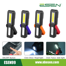 Promotion ABS 3W COB Magnetic USB Rechargable Pen Work Led Flashlight For Workers