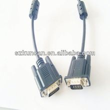 vga to yellow rca male cable high quality for Multimedia and Projector /Computer