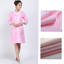 High quality poly cotton blend fabric for nurse uniform / medical workwear