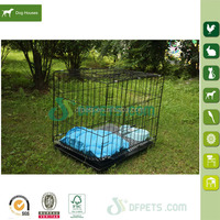Medium Metal Dog cage with warm soft bed cushion