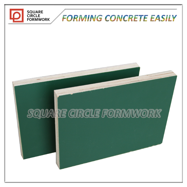 plastic plywood concrete formwork panels reusable 150 times in formwork system
