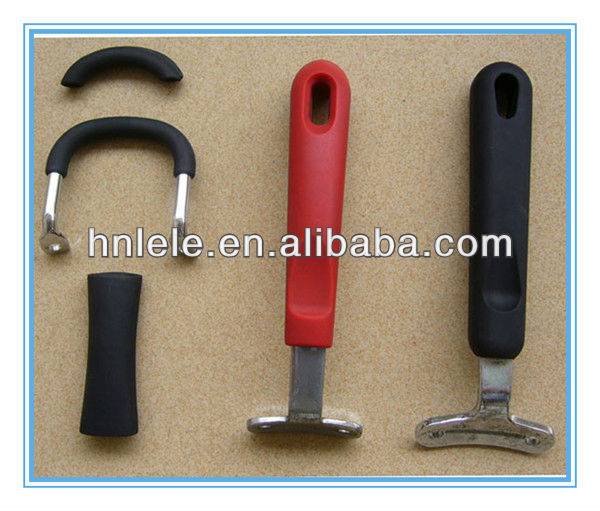 molded silicone handle protector