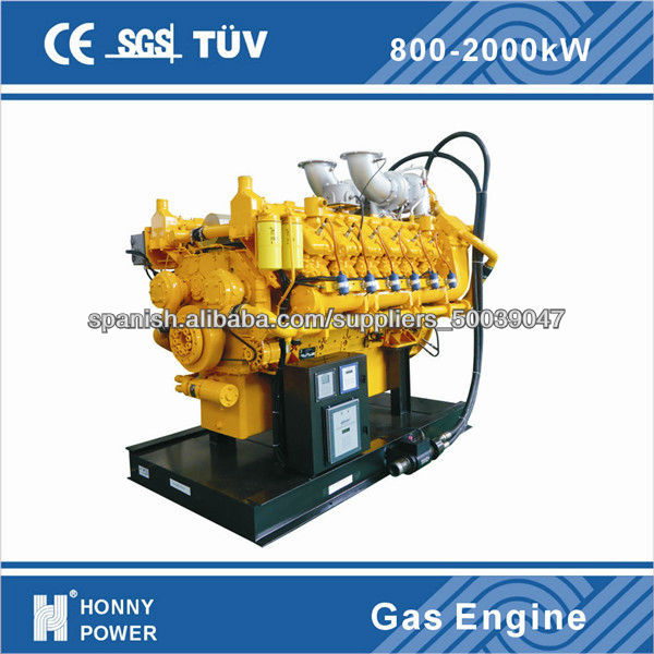 Honny China 1000 kw Natural Gas Generator