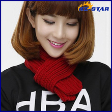 HZW-14886007 knitted hand made fashion hanger fabric universal muffler
