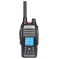 Tesunho TH-388 hotel securit two way radio with base station and mobile phone