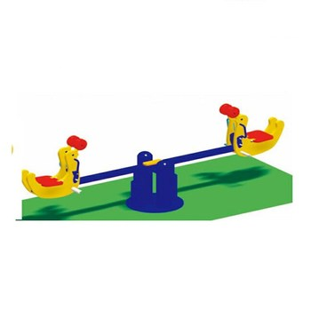 High Quality Double Plastic Seats Children Spring Seesaw model toy HF-G215B