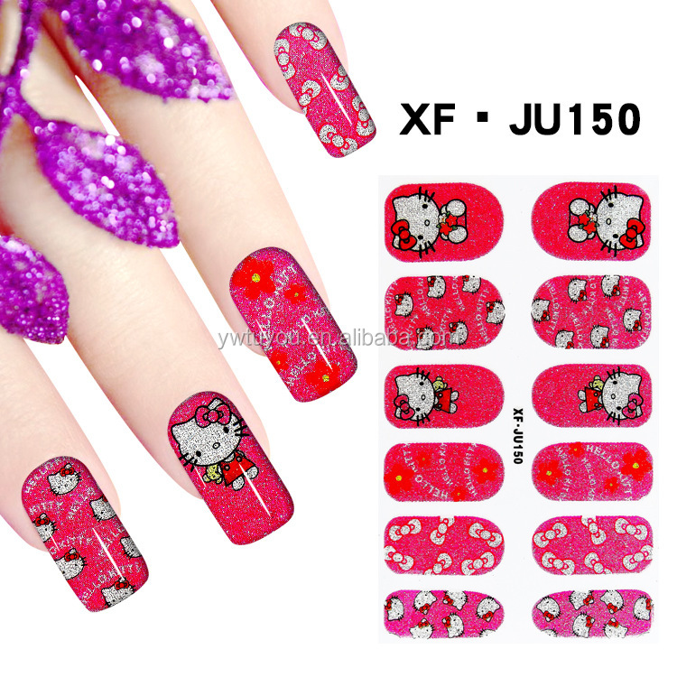 Lovely nail sticker wholesale nail arts design halloween nail designs
