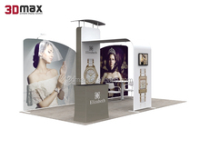 Customized free stand exhibition trade show booth displays frame