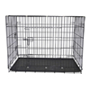 Heavy duty folding metal puppy small medium double extra large dog cage