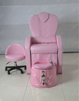 Nail Salon Pipless Magnet Jet Manicure Table And Pedicure Chair
