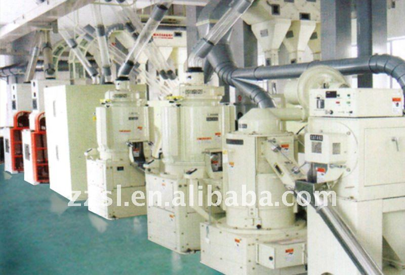 automatic rice milling /polishing/clean /package processing machine