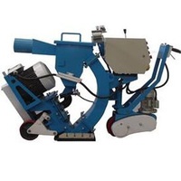 Mobile type asphalt pavement shot blasting machine,surface strengthening cleaning equipment