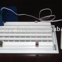 Electric Supply Air Grille With Thermostat